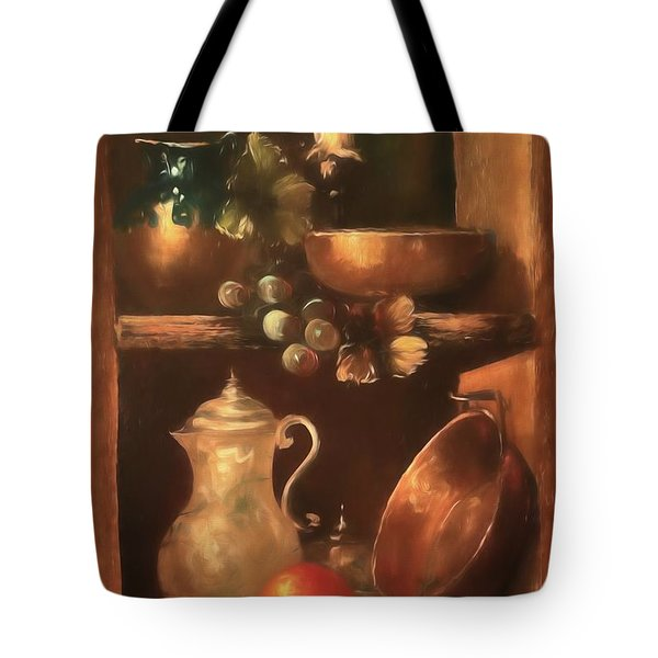 Tote Bag featuring the photograph Shelf Life 2 by Donna Kennedy