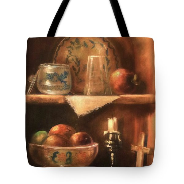 Tote Bag featuring the photograph Shelf Life by Donna Kennedy