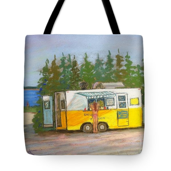 Shelia's Chip Wagon Tote Bag