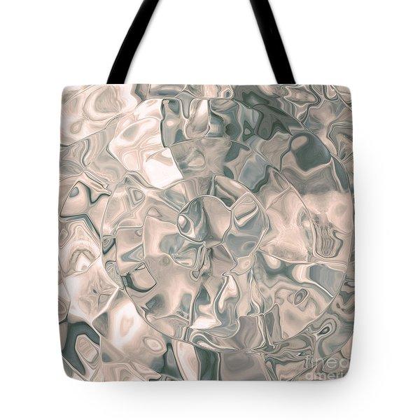 Shell Abstract Tote Bag
