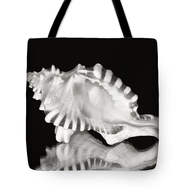 Shell And Reflection Tote Bag by Bill Brennan - Printscapes