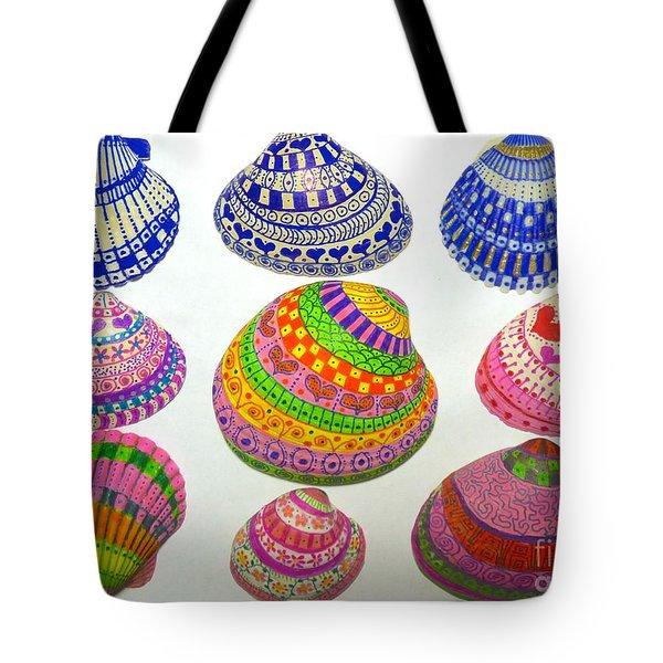 Shell Art Tote Bag