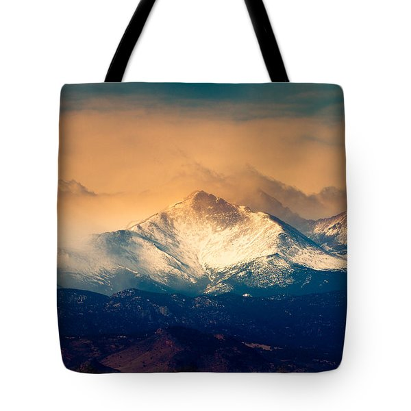 She'll Be Coming Around The Mountain Tote Bag by James BO  Insogna