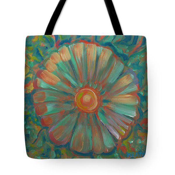 Shell Flower Tote Bag by John Keaton