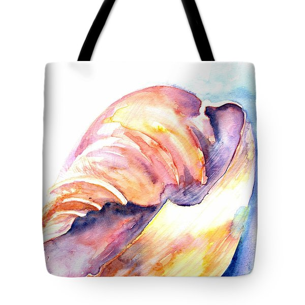 Tote Bag featuring the painting Shell Mouth by Ashley Kujan
