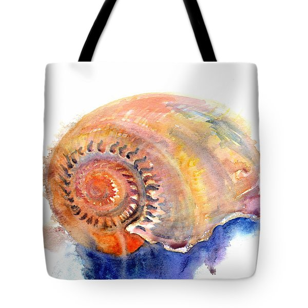 Tote Bag featuring the painting Shell Nose by Ashley Kujan