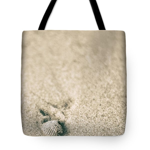 Tote Bag featuring the photograph Shell On Beach Alabama  by John McGraw
