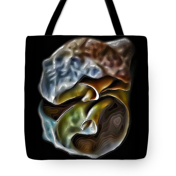 Shell On Mirror Tote Bag