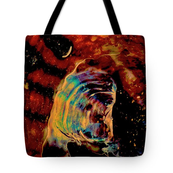 Shell Space Tote Bag by Gina O'Brien
