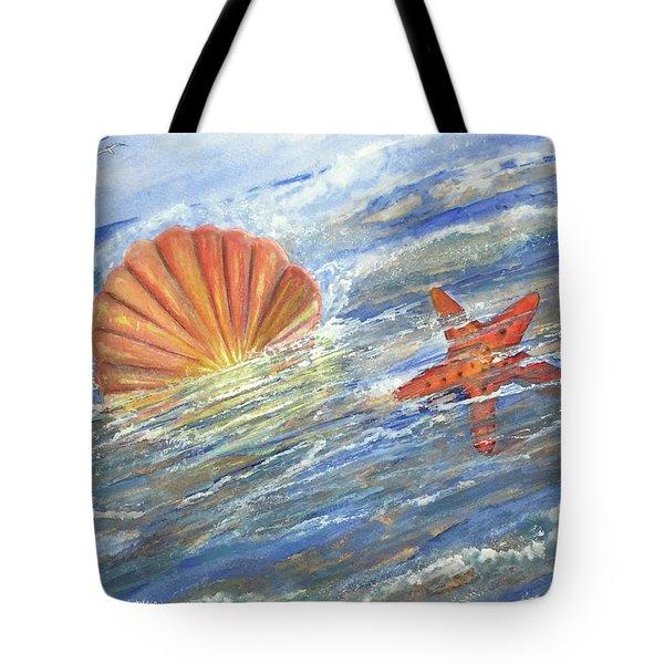 Shell Star  Tote Bag