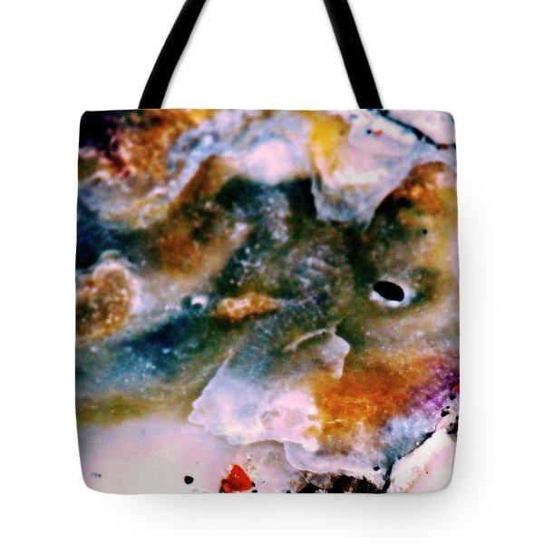 Shell Treasure Story Tote Bag