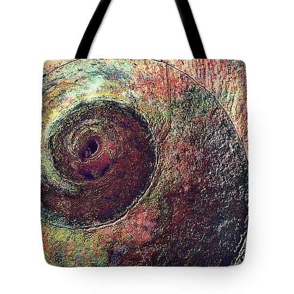 Tote Bag featuring the photograph Shelled by Lori Seaman