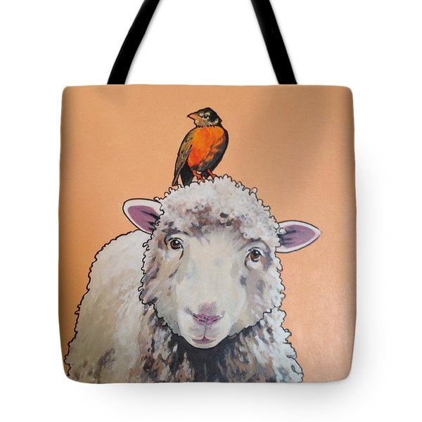 Shelley The Sheep Tote Bag