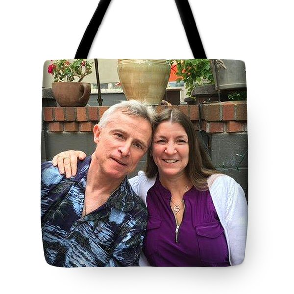Shellie And Allen Tote Bag