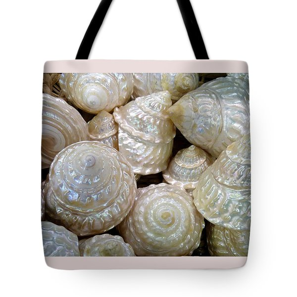 Shells - 4 Tote Bag