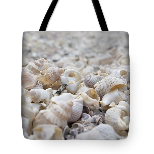 Tote Bag featuring the photograph Shells 1 by Jocelyn Friis