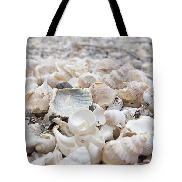 Tote Bag featuring the photograph Shells 2 by Jocelyn Friis