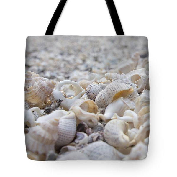 Tote Bag featuring the photograph Shells 3 by Jocelyn Friis