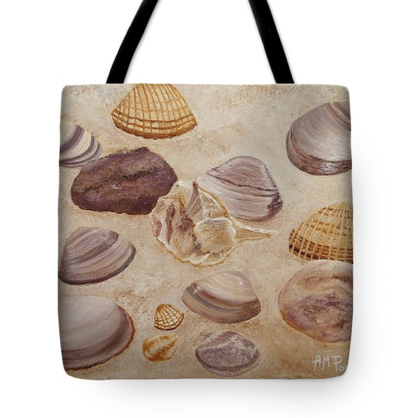 Shells And Stones Tote Bag