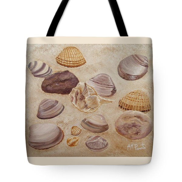 Shells And Stones Tote Bag