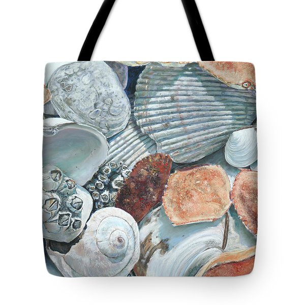 Shells Of The Puget Sound Tote Bag