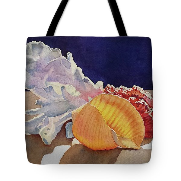 Shells On A Shelf Tote Bag