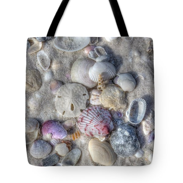 Tote Bag featuring the photograph Shells, Siesta Key, Florida by Paul Schultz