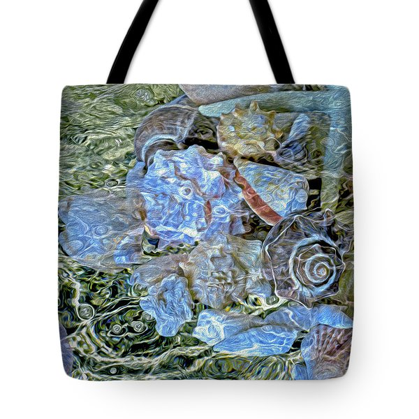 Shells Underwater 20 Tote Bag