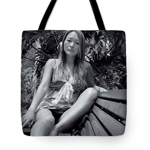 Shelly And Shirley 1 Tote Bag by David Miller
