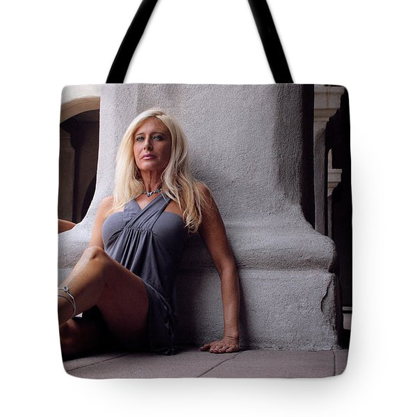 Shelly And Shirley 3 Tote Bag by David Miller