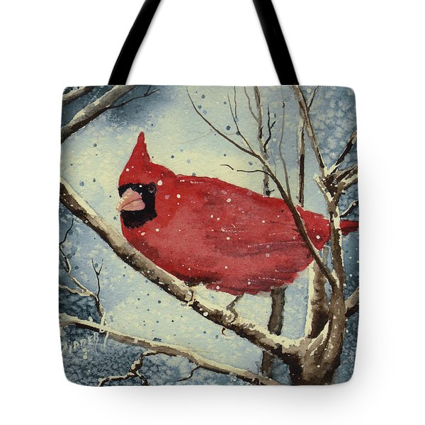Shelly's Cardinal Tote Bag