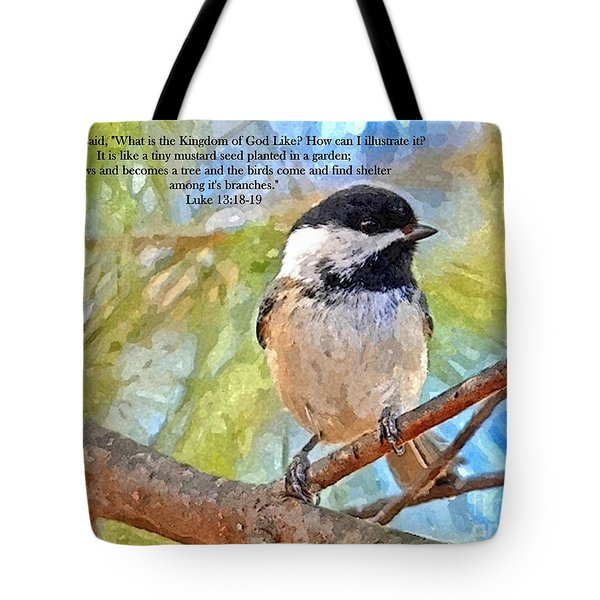Shelter Among It's Branches Tote Bag