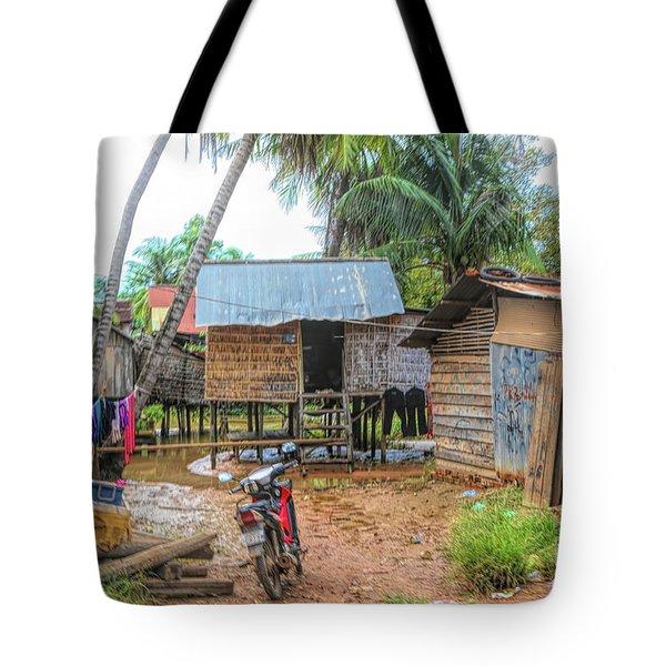 Shelter Home Cambodia Siem Reap I Tote Bag