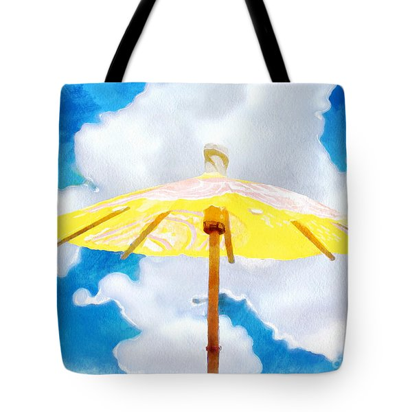Shelter In The Sky Tote Bag