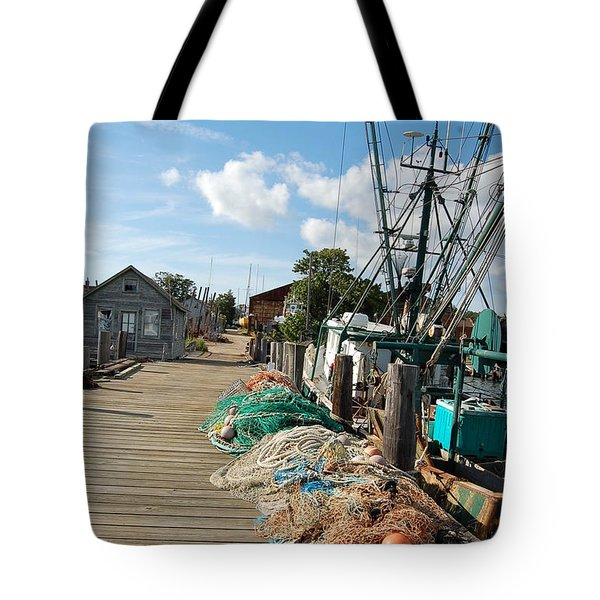 Tote Bag featuring the photograph Shelter Island by Frank Stallone
