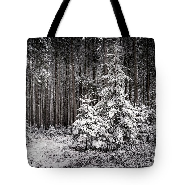 Tote Bag featuring the photograph Sheltered Childhood by Hannes Cmarits