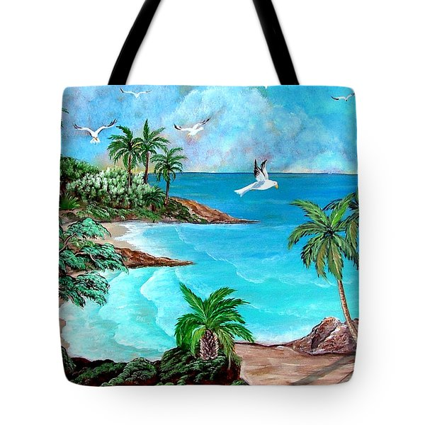 Sheltered Cove Tote Bag