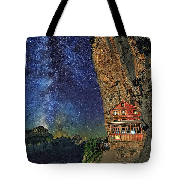 Sheltered From The Vastness Tote Bag