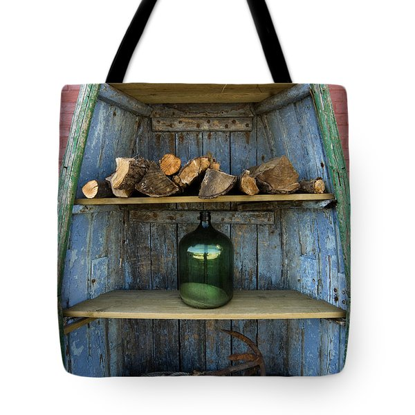 Shelved Boat Tote Bag by Robert Lacy
