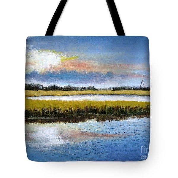 Shem Creek Sky Tote Bag