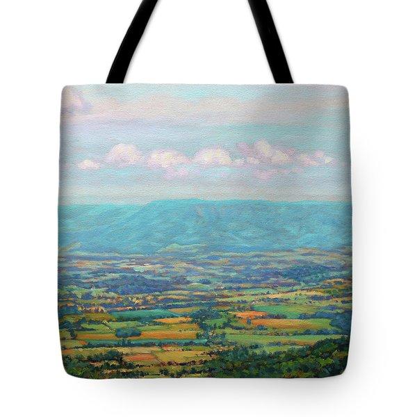 Shenandoah Blue Tote Bag