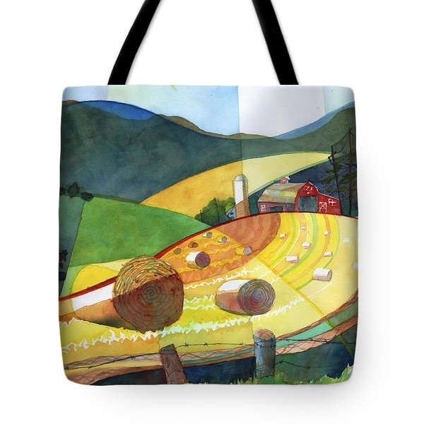 Shenandoah Haystacks Tote Bag