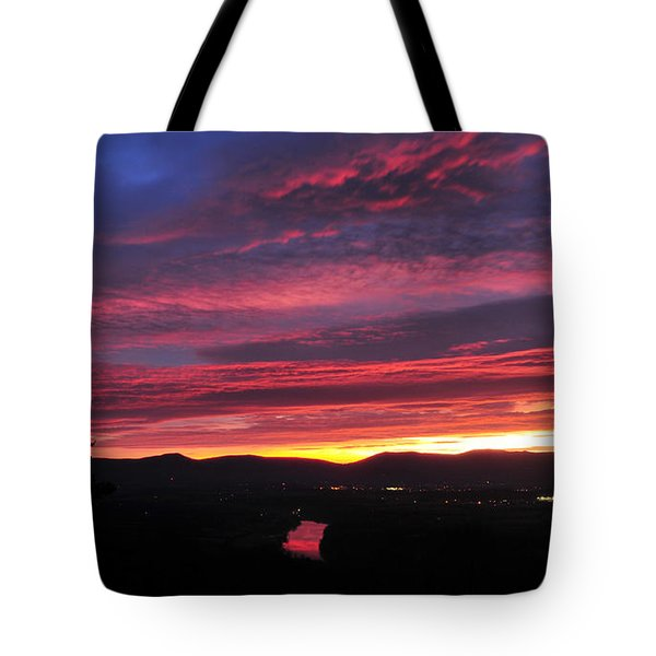 Shenandoah Morning Glow Tote Bag
