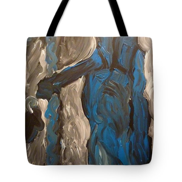 Tote Bag featuring the painting Shepherd by Joshua Redman