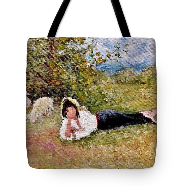 Shepherdess.. Tote Bag