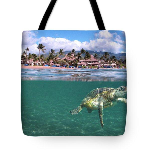 Sheraton Maui Tote Bag