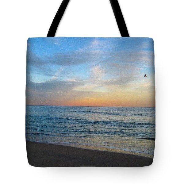 Sherbet Sky Tote Bag