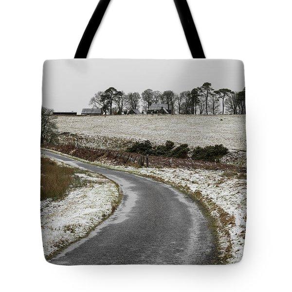 Sheriffmuir Road Tote Bag