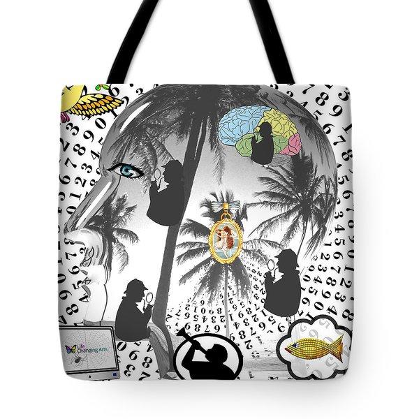 Sherlock's Intuition Tote Bag