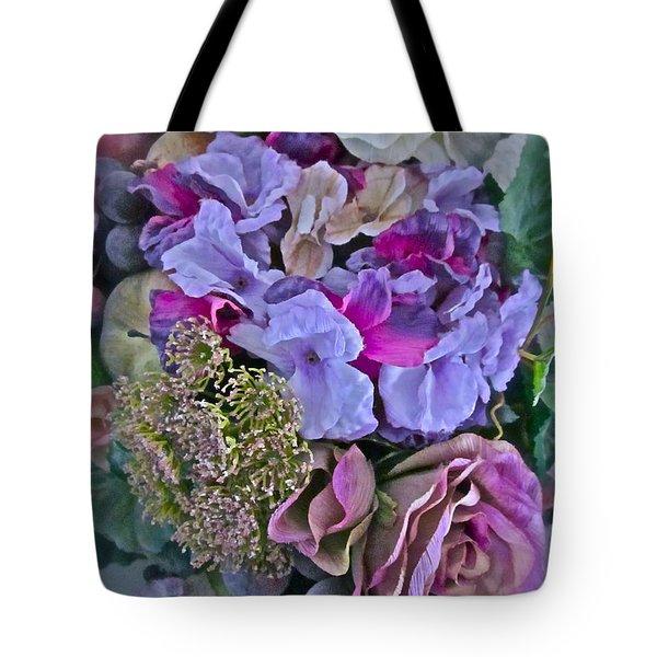 Sherry's Silks Tote Bag by Gwyn Newcombe